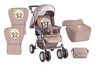 Детская прогулочная коляска COMBI BEIGE DAISY BEARS ТМ Lorelli (Bertoni) 10020081730