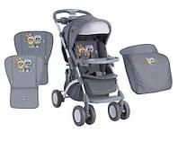 Детская прогулочная коляска APOLLO GREY BABY OWLS ТМ Lorelli (Bertoni) 10020901729