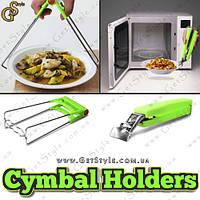 """Тримачі для гарячої посуду - """"Cymbal Holders"""" - 2 в 1., фото 1"""