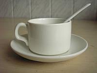 Чашки чайные с блюдцем и ложечкой, фото 1