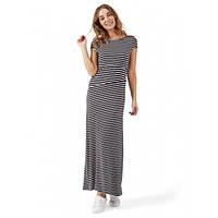 """Платье """"Вояж"""" для беременных и кормящих I love mum серый меланж/черный, фото 1"""