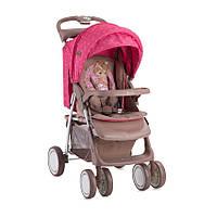 Детская прогулочная коляска FOXY BEIGE&ROSE PRINCESS ТМ Lorelli (Bertoni) 10020521703A