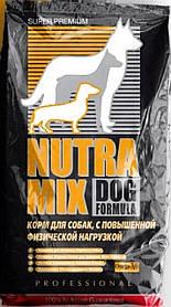 Nutra Mix Professional Сухой кормдля атлетичных собак всех возрастов, ведущих активный образ жизни, 3кг