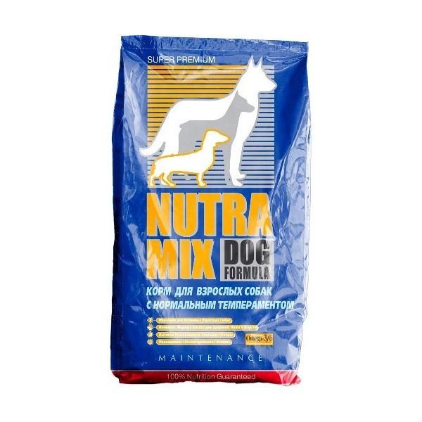 Сухой корм Nutra Mix Maintenance для собак со средней физической активностью, 18 кг
