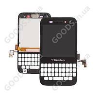 Дисплей Blackberry Q5 с сенсором, передней панелью 14pin