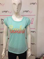 Яркая летняя футболка Barbie