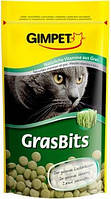 Gimpet GrasBits витаминизированные таблетки с травой, для кошек, 710шт, 425г