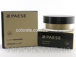 Paese Розсипчаста пудра Мінеральна (01) Mineral Light Beige Powder