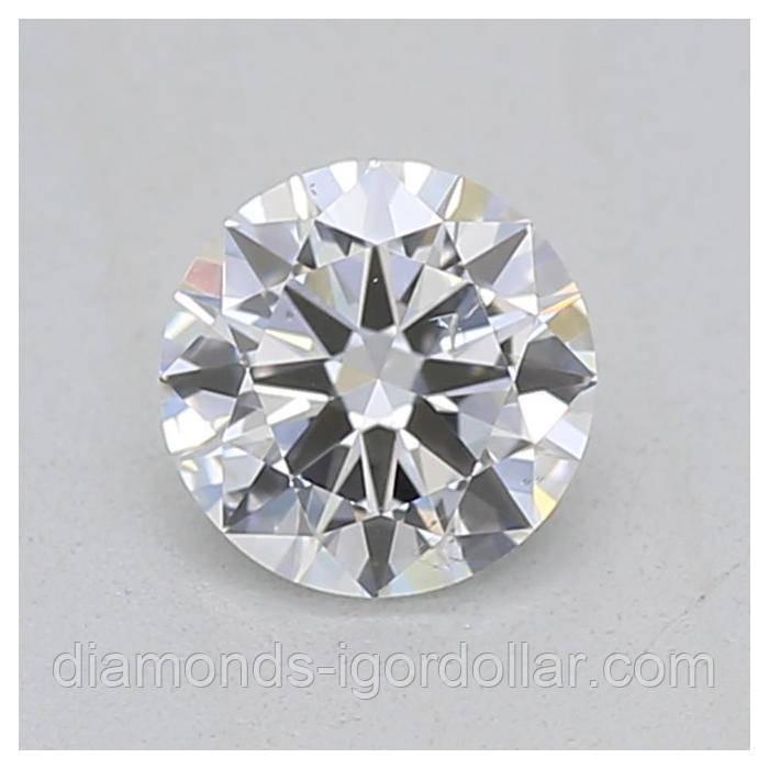 Бриллиант натуральный природный 0,2 кт GIA