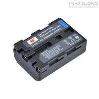 Аккумулятор для видеокамеры Sony NP-FM55H, 2300 mAh.