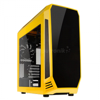 Middle Tower, BitFenix Aegis Core Micro-ATX zolto-czarna