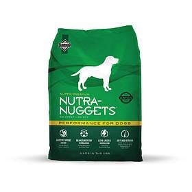 Nutra Nuggets Performance для спортивных собак (зеленая), 3кг