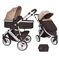 Детская универсальная коляска-трансформер CALIBRA 3 BROWN&BEIGE ТМ Lorelli (Bertoni) 10020781739