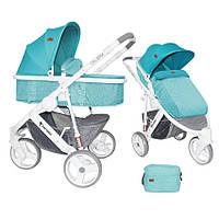 Детская универсальная коляска-трансформер CALIBRA 3 AQUAMARINE ТМ Lorelli (Bertoni) 10020781741