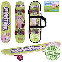 Детский скейт «Лунтик» LT 0028