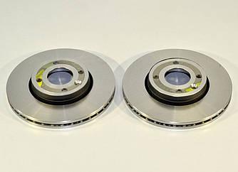 Гальмівний диск передній 258mm. R14 (к-т 2шт) на Renault Kangoo II 2008-> — Renault (Оригінал) - 7701210081