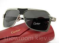 Солнцезащитные очки Cartier (130) серебрянная оправа