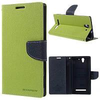 Чехол Book Cover Goospery Samsung J105 (J1 Mini) Green