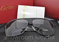 Солнцезащитные очки Cartier (130) черная оправа