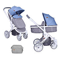 Детская универсальная коляска-трансформер LUNA GREY ТМ Lorelli (Bertoni) 10020801737