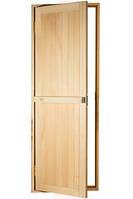Дверь глухая из липы для бани 1900*700