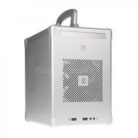 Маленькие типа ITX, Lian, Li, PC-TU100A, srebrny