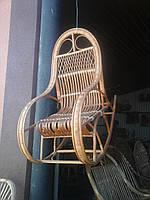 """Кресло-качалка из лозы детская """" Особенная"""""""