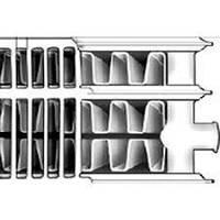 Радиатор стальной 300х1500 тип 33 боковое подключение