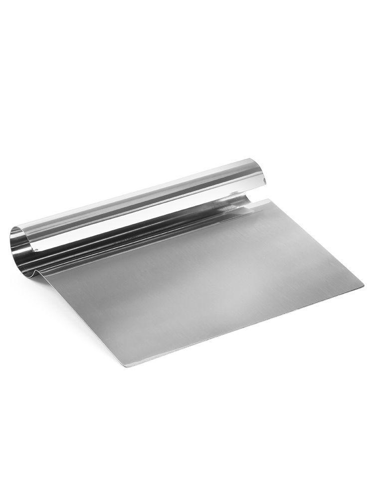 Кухонный нож для теста 15х11 см. нержавеющая сталь