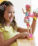 Кукла Барби на роликах видеогеймер, фото 3
