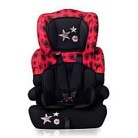 Детское автокресло KIDDY BLACK&RED STARS  9-36 кг (от 9 мес. до 12 лет) ТМ Lorelli/Bertoni 10070011760