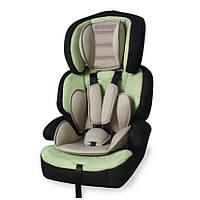 Детское автокресло-бустер JUNIOR PREMIUM GREEN&BEIGE 9-36 кг (от 9 мес. до 12 лет) ТМ Lorelli/Bertoni 10070841680