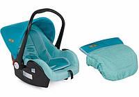 Детское автокресло-переноска LIFESAVER AQUAMARINE 0-13 кг (от 0 до 1 года) ТМ Lorelli/Bertoni 10070301741