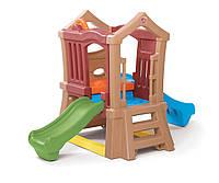 Детский игровой комплекс с горками - Step 2 - США- есть разнообразные отверстия для лазанья