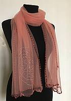 Легкий шарф, женская шаль