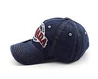 Бейсболка мужская джинсовая 57-61р Польша