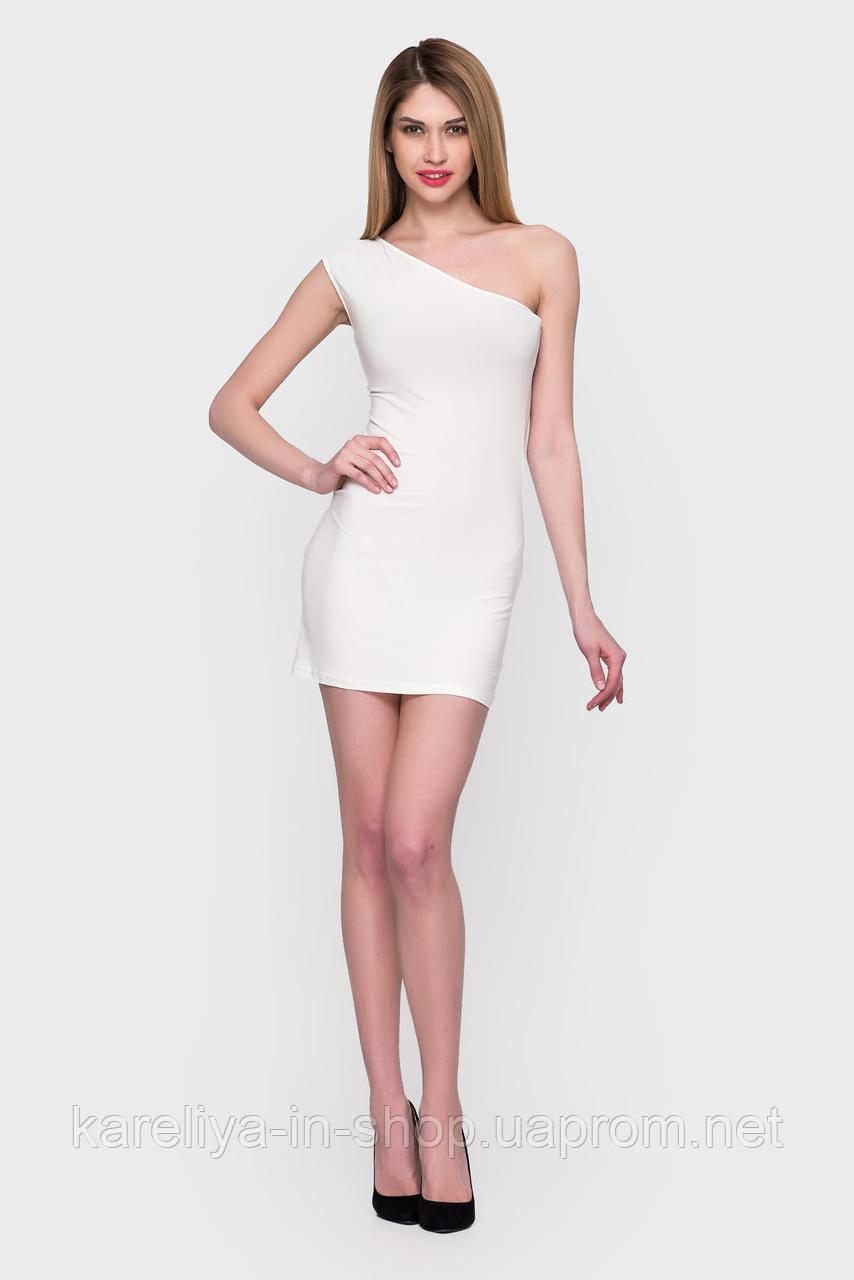 1285afd63599 Белое короткое облегающие платье  продажа, цена в Харькове