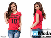 Задорная женская футболка Little Secret красная