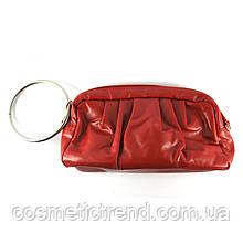 Косметичка красная с ручкой-кольцом 512024