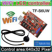 Контроллер WI-FI для бегущей LED строки до 1280х16 пикселей. PowerLed TF-S6UW