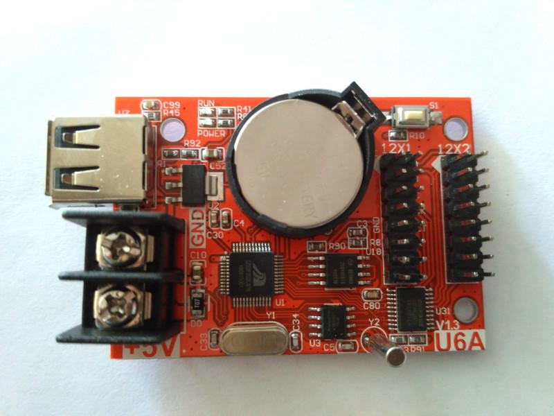 Контроллер  HD-U6A для бегущей LED строки 320х32