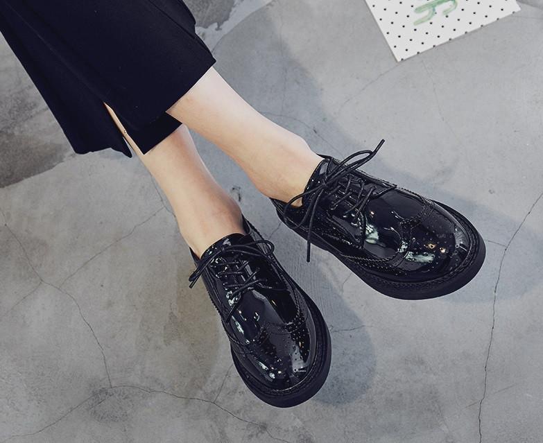 3ac39a56afcc Лаковые туфли без каблука: продажа, цена в Чернигове. туфли женские от ...
