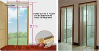 Москитная Сетка на Дверь надежная защита от насекомых