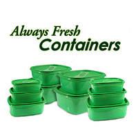 Набор контейнеров Always fresh (Олвейс Фреш) для сохранения свежести продуктов (10 шт.), фото 1