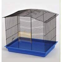 """Клетка """"КОМБИ"""" для грызунов, 57х40х48 см, цинк"""