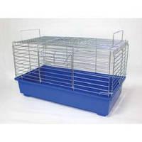 """Клетка """"КРОЛИК"""" для грызунов, декоративных кроликов, 57х30х33,5 см, цинк"""