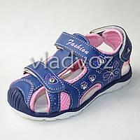 Босоножки сандалии для девочки на девочек синие Tom.m 26р.