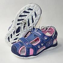 Детские босоножки сандалии для девочки на девочек синие Tom.m 26р., фото 3