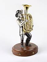 "Статуэтка ""Музыкант с трубой"""