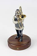 "Статуэтка ""Музыкант с тромбоном"""